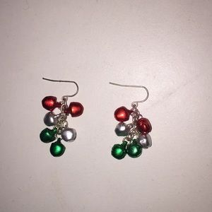 jingle bell earrings 🎄